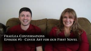 video discussion about our first novel cover art