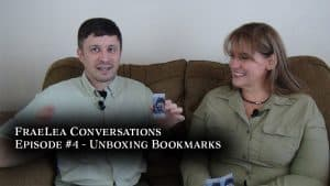 FraeLea Conversations Episode 4 – Unboxing Bookmarks