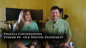 FraeLea Conversations #6 – Our Writing Experiment