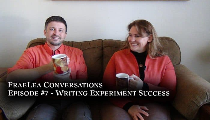 FraeLea Conversations video Writing Experiment Success