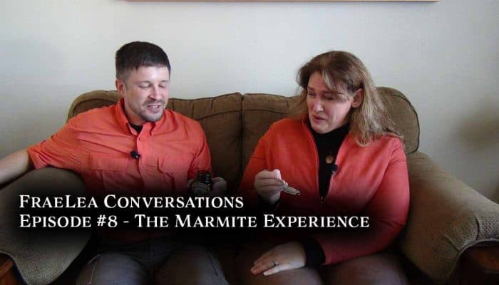 FraeLea Conversations - Marmite Experience