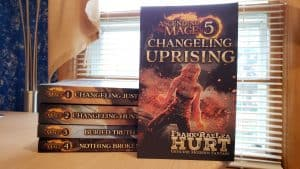 Ascending Mage series paperbacks