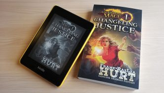 Ascending Mage 1 Changeling Justice ebook and paperback