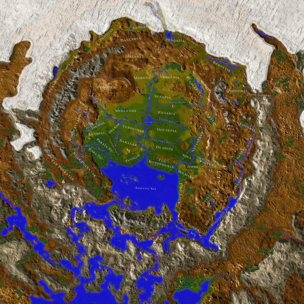Map of Aedynar