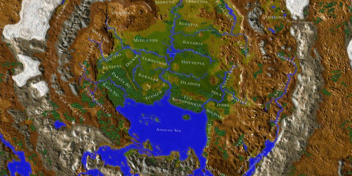 New Bonus: Map of Aedynar