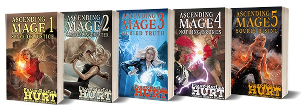 Ascending Mage Books 1-5