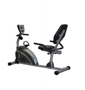 This is the recumbent bike we use, but there are dozens of other models available at a range of prices.